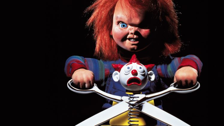 chucky, Doll, Black, Scissors, Childand039s, Play, Horror, Dark HD Wallpaper Desktop Background