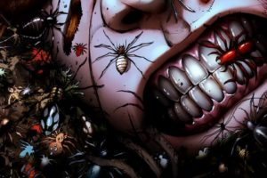grimm fairy tales, Comics, Anime, Dark, Horror, Insects, Spider, Grimace, Gross, Spooky, Creepy, Scary