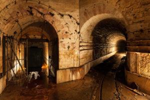 world, Architecture, Buildings, Tunnels, Stone, Rock, Railroad, Tracks, Rail, Lights, Cave, Mine