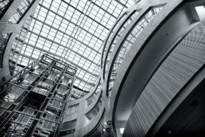 elevator, World, Architecture, Buildings, Structures, Chrome, Metal, Steel, Window, Glass, Interior, Design