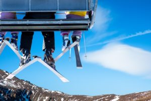 sports, Ski, Lift, Chair, Bench, Seat, Legs, Winter, Snow, Mood, Emotion, Fun, Happy, Friends, Mountains, Landscapes, Sky, Clouds