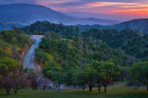 world, Roads, Nature, Landscapes, Trees, Forest, Hills, Mountains, Sky, Clouds, Sunset, Sunrise