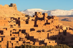 sunrise, Mountains, Cityscapes, Architecture, Buildings, Morocco