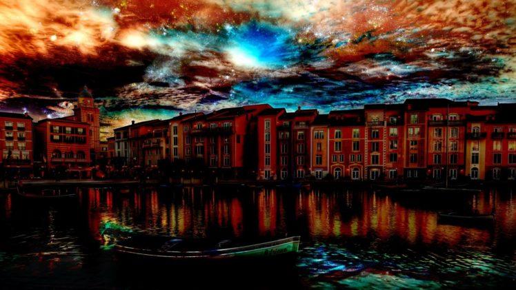 landscapes, Cityscapes, Architecture, Venice, Hdr, Photography HD Wallpaper Desktop Background