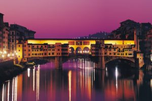 bridges, Italy, Florence, Ponte, Vecchio, Rivers, Reflections