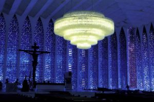 blue, Brazil, Churches