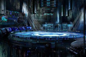 batman, Futuristic, Comics, Suit, Machines, Digital, Art, Batcave