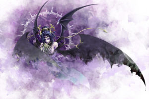 digimon, Lilithmon, Dark, Horror, Fantasy, Angels, Demons, Wings, Art, Vector