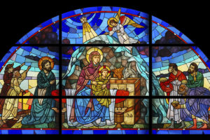 stained, Glass, Nativity, Christian, Catholic, Art, Mary, Jesus, Art, Cathedral, Church, Religion