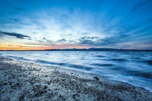 sunset, Landscapes, Nature, Coast, Waves, Seattle, Usa, Pebbles, Hdr, Photography, Washington, Sea, Beaches