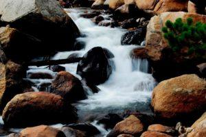 nature, Rocks, Creek, Scenario