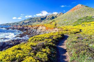 mountains, Landscapes, Nature, California, Beaches