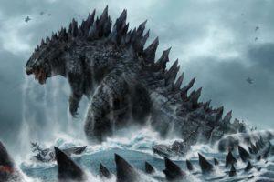 godzilla, Action, Adventure, Sci fi, Fantasy, Monster, Dinosaur, Horror,  32