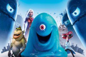 monsters vs aliens, Cartoon, Animation, Sci fi, Monsters, Aliens, Monster, Alien, Film, Movie,  6