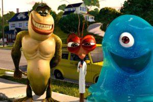 monsters vs aliens, Cartoon, Animation, Sci fi, Monsters, Aliens, Monster, Alien, Film, Movie,  54