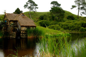 house, Mill, Pond, Water, Grass, Flowers, Hill, Lakes, Nature, Landscapes, Trees, Buildings