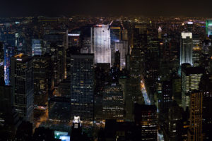 new, York, Architecture, Buildings, Skyscrapers, Night, Lights, Skyline, Cityscape