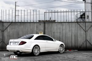 mercedes, Cl63, Amg, White, Vellano, Wheels, Tuning, Cars