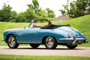 1961, Porsche, 356b, 1600, Cabriolet, Retro, 356, Fs