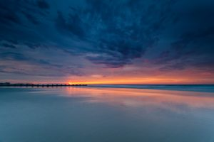 sunset, Nature, Evening, Water, Sea, Sky