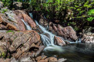 forest, Jungle, River, Rocks, Stones, Waterfalls, Canada