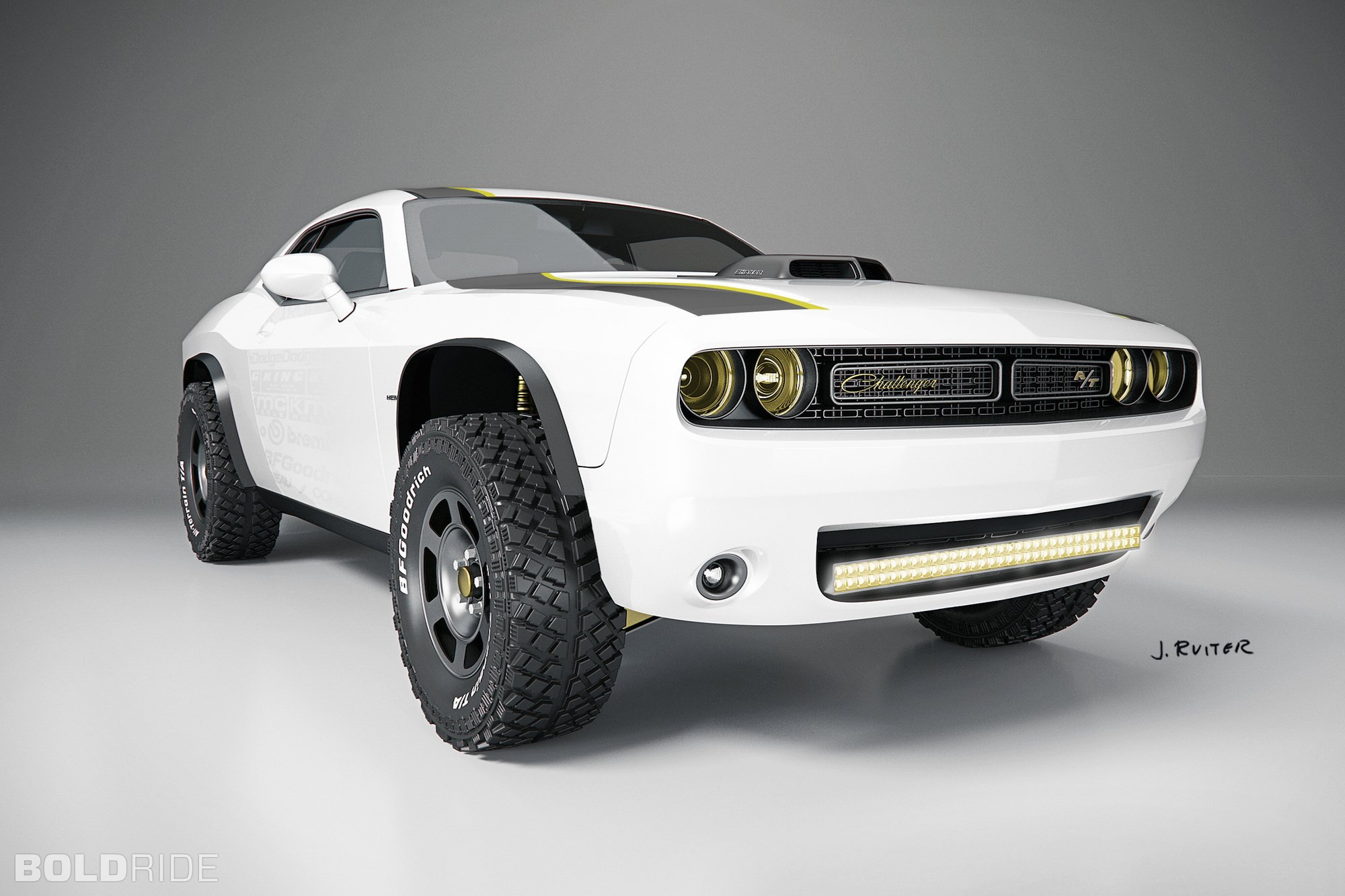 2014 Dodge Challenger A T Untamed Concept Muscle Awd Hot Rod Rods 4x4 Wallpapers Hd Desktop And Mobile Backgrounds