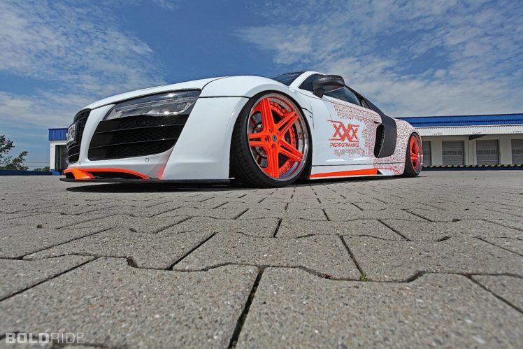 2015, Tuner wheels, Audi, R 8, Tuning HD Wallpaper Desktop Background
