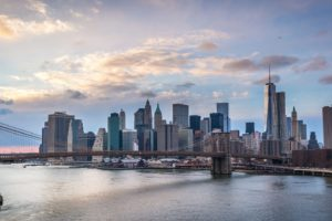 bridge, Bridges, Brooklyn, Cities, City, Intel, Rivers, New, York, Manhattan, Night, Light
