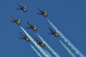 aero, L 39, Albatros, Breitling, Jet, Team, Acrobatic, Aircrafts