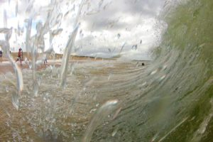 ocean, Sea, Water, Surf, Nature, Landscape