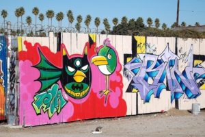 los, Angeles, California, Pacific, Buildings, Cities, Graffiti, Colors, Graff, Wall, Art, Street, Illegal, City
