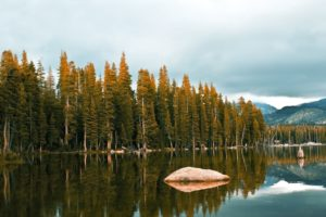 mountains, Nature, Snow, Rocks, Green, Sky, River, Lake