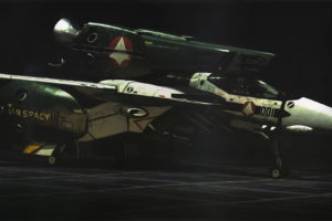 macross, Anime, Mecha, Jet, Aircraft