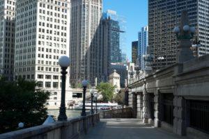 architecture, Bridges, Chicago, Cities, City, Francisco, Night, Skyline, Usa, Illinois, Trump, Tower, Mid ouest, Comta