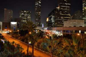 houston, Architecture, Bridges, Cities, City, Texas, Night, Towers, Buildings, Usa, Downtown, Offices, Storehouses, Stores