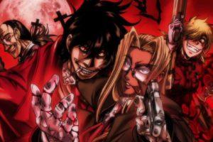 hellsing, Gothic, Anime
