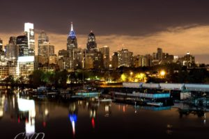architecture, Bridges, Buildings, Cities, City, Downtown, Philadelphia, Pennsylvania, Night, Offices, Storehouses, Stores, Texas, Towers, Usa, Keystone state
