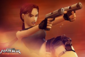 tomb, Raider, Lara, Croft, Video, Game, The, Angel, Of, The, Darkness, Action, Shooter, 3d