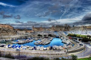 marseille, France, Provence, 13, Cities, Monuments, Panorama, Panoramic, Urban, Architecture, Port, Sea, Vieux, Harbor