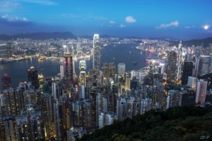 architecture, Bridge, Buildings, Cities, Cityscape, Contrast, Empire, Lights, Night, Panorama, Place, Rivers, Scenic, Shift, Skyline, Skyscrapers, View, Water, Window, World, China, Honkong