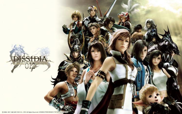 final, Fantasy, Dissidia, Action, Adventure, Fighting, Combat, Tps, 1ffdissidia HD Wallpaper Desktop Background