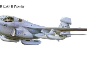 ea 6b, Icap, Ii, Prowler, Military, War, Art, Painting, Airplane, Aircraft, Weapon, Fighter