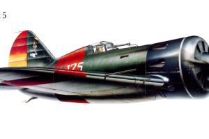 i 16, Tipe, 5, Military, War, Art, Painting, Airplane, Aircraft, Weapon, Fighter