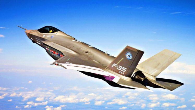 aircraft, Fighters, F35 HD Wallpaper Desktop Background
