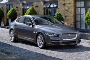 2015, Jaguar, Xe, Portfolio, Gray, City, Trees, Street, Cars, Motors, Speed
