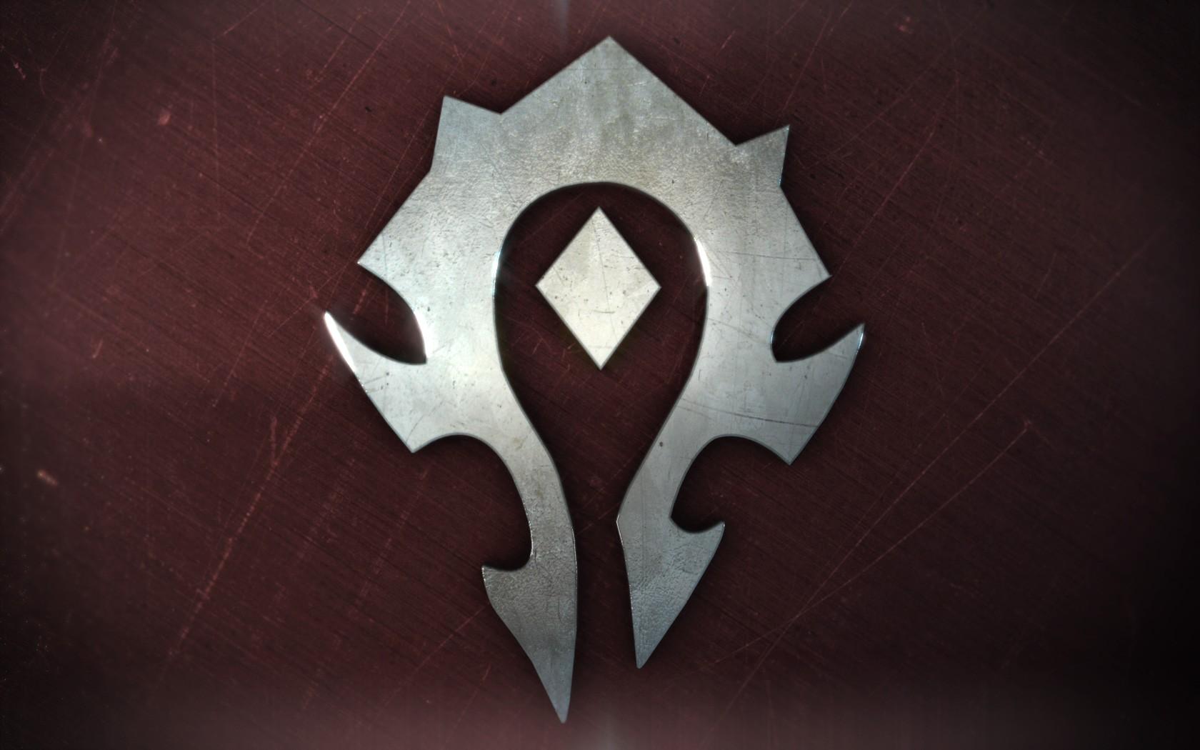 World Of Warcraft Symbol Horde Wallpapers Hd Desktop And