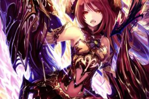 blood, Of, Bahamut, Buraddo, Obu, Bahamuto, Fantasy, Action, Rpg, Fighting, 1bahamut, Adventure, Anime, Tachikawa, Mushimaro, Bimo, Girl, Angel, Artwork