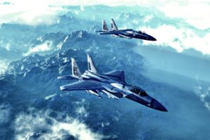mcdonnell, Douglas, F 15, Eagle, Aircraft, Bombs, Fighter, Flight, Military, Missiles, Shells, Mountains, Clouds, Landscapes