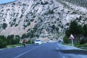 road, Tebessa, Mountains, Trees, Hills, Cars, Motorcycles, Landscapes, Nature, Algeria, North, Africa, Chaoui, Amazigh
