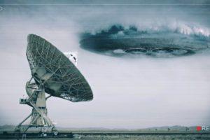 ufo, Aliens, Dish, Radar, Clouds, Disk, Plane, Space, Strange, Landscapes, Earth, Fake